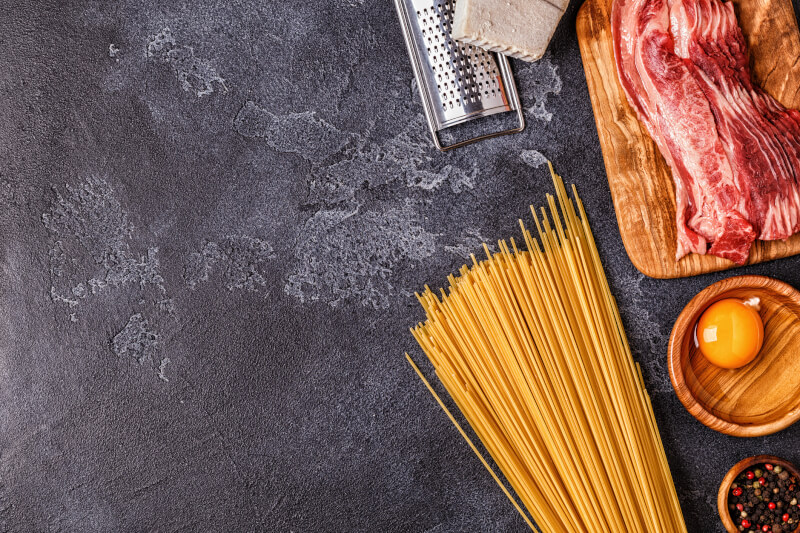 Online Carbonara cooking class by Italian chef