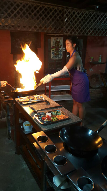 The first cookery school in chiangmai town Established 1995 Learn to cook like a Thai Completely Hands on!