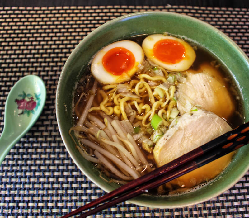 Fun&Delicious!!Ramen noodle from scratch Online Class (veggie ramen option)Start at 08:00/18:00 (JAPAN time)