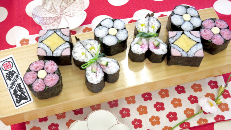 [ONLINE] Art SUSHI ROLL from Tokyo