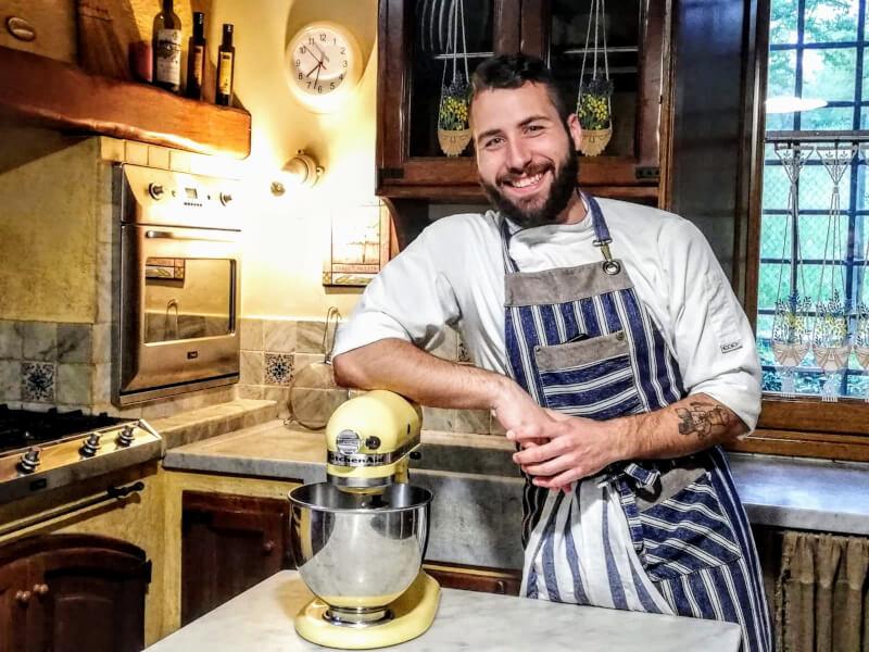 Online Italian Tiramisu class with Italian pastry chef