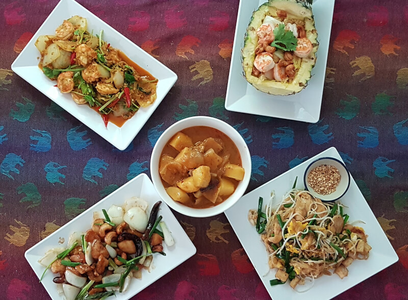 Online Authentic Thai Cooking Class