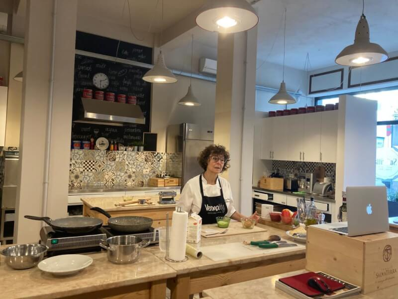 Online Fresh pasta cooking class with chef Cristina