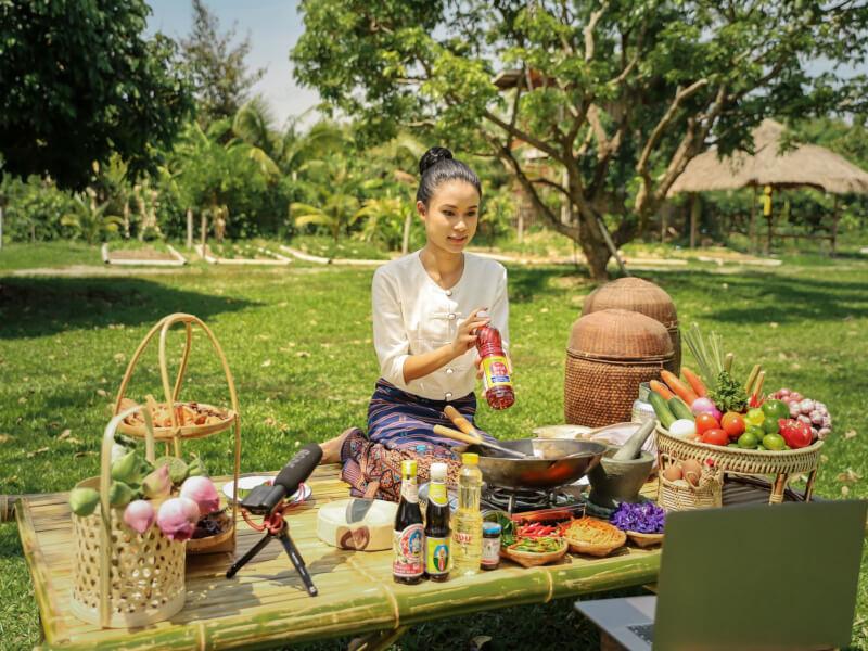 Cook Popular Thai Food in the Farm