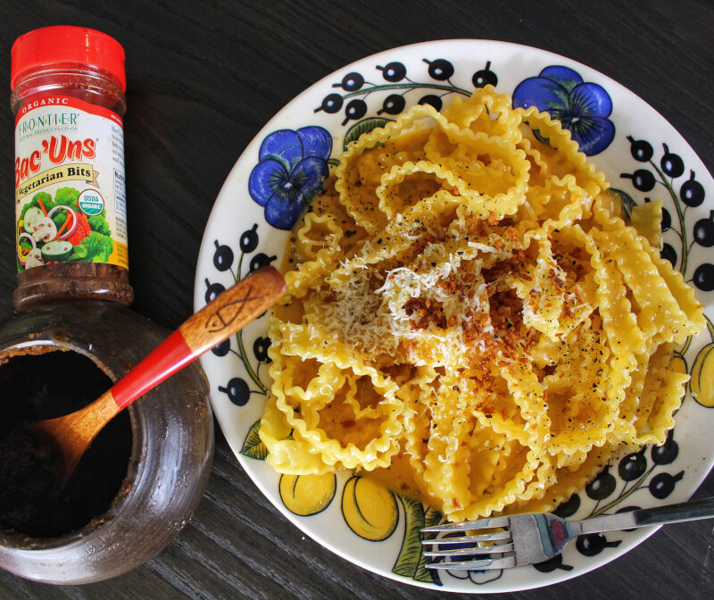 Making homemade Miso &Miso carbonara pasta online small group class on 6 March 18:00 JST
