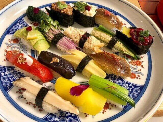 Vegetarian Vegan Extravaganza Sushi making course