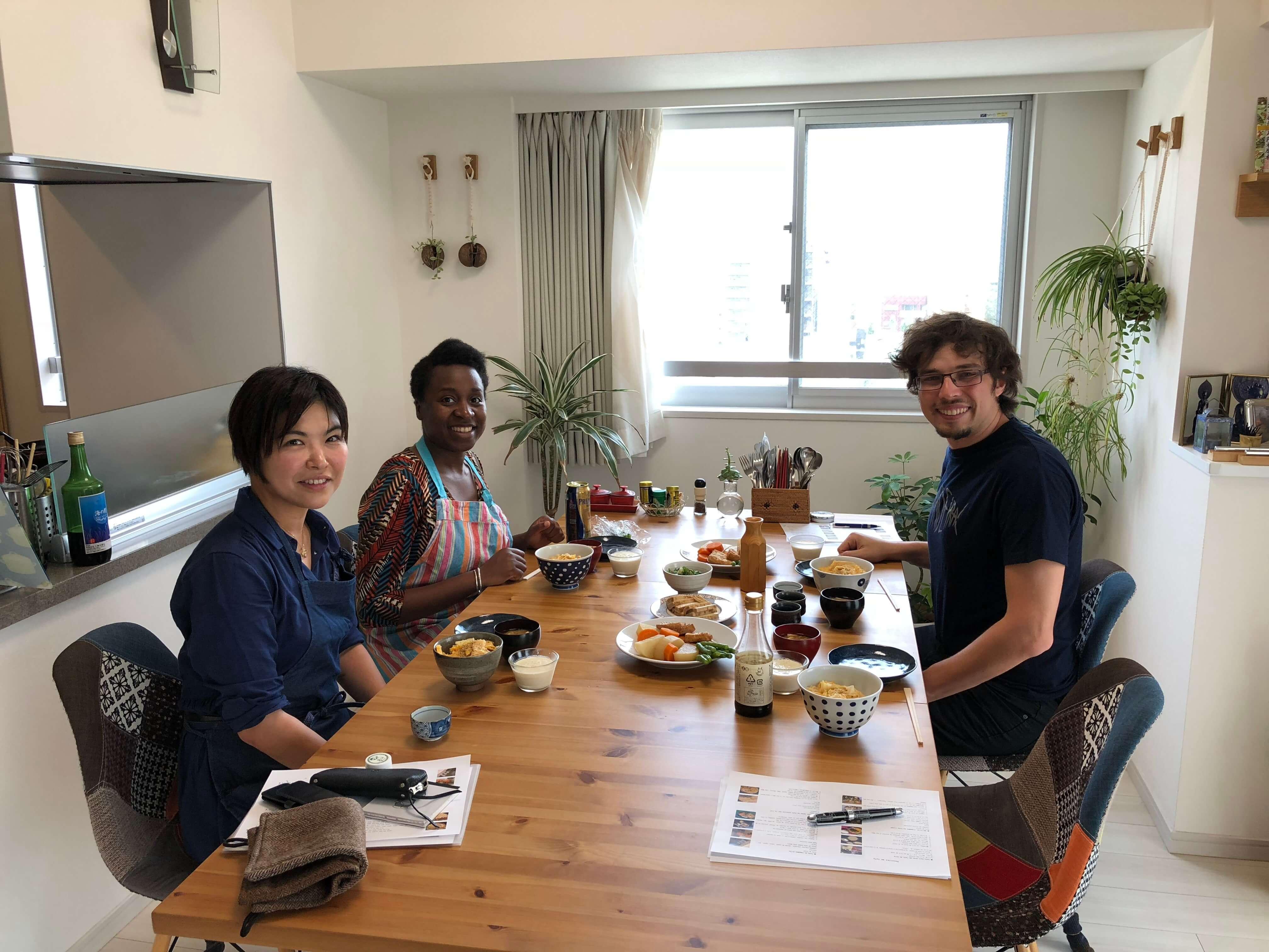 料理を通して国際交流しよう!
