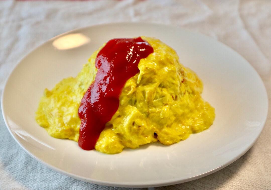 ヴィーガンレシピ ~第1弾~ : 「卵不使用!『ユバライス』」